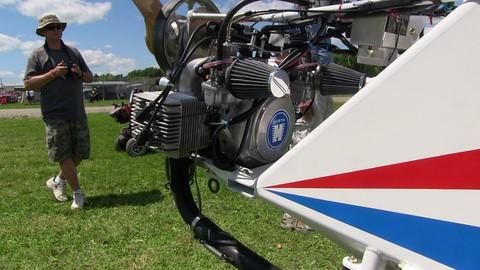 Backyard Flyer Experimental Aircraft Kit, Valley Engineering.